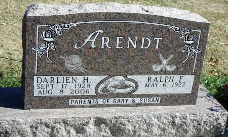 ARENDT, RALPH F. - Minnehaha County, South Dakota | RALPH F. ARENDT - South Dakota Gravestone Photos