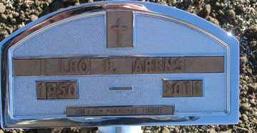ARENS, LEO E. - Minnehaha County, South Dakota | LEO E. ARENS - South Dakota Gravestone Photos
