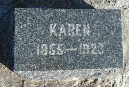 ARENTSON, KAREN - Minnehaha County, South Dakota   KAREN ARENTSON - South Dakota Gravestone Photos