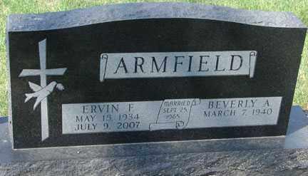ARMFIELD, BEVERLY A. - Minnehaha County, South Dakota | BEVERLY A. ARMFIELD - South Dakota Gravestone Photos