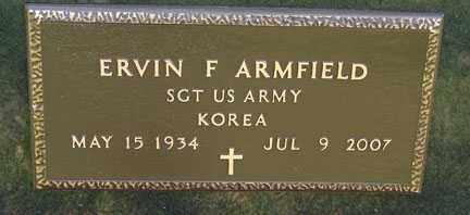 ARMFIELD, ERVIN F. - Minnehaha County, South Dakota | ERVIN F. ARMFIELD - South Dakota Gravestone Photos