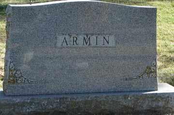 ARMIN, FAMILY MARKER - Minnehaha County, South Dakota   FAMILY MARKER ARMIN - South Dakota Gravestone Photos
