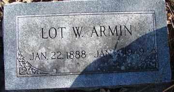 ARMIN, LOT W. - Minnehaha County, South Dakota   LOT W. ARMIN - South Dakota Gravestone Photos