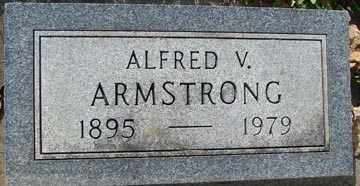 ARMSTRONG, ALFRED V. - Minnehaha County, South Dakota | ALFRED V. ARMSTRONG - South Dakota Gravestone Photos