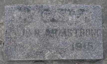 ARMSTRONG, DAVID A. - Minnehaha County, South Dakota | DAVID A. ARMSTRONG - South Dakota Gravestone Photos