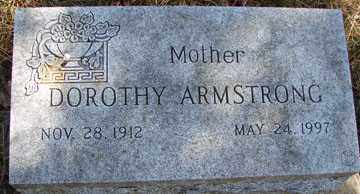 ARMSTRONG, DOROTHY - Minnehaha County, South Dakota | DOROTHY ARMSTRONG - South Dakota Gravestone Photos