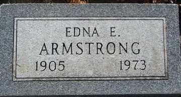 ARMSTRONG, EDNA E. - Minnehaha County, South Dakota | EDNA E. ARMSTRONG - South Dakota Gravestone Photos