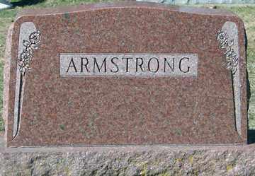 ARMSTRONG, FAMILY MARKER - Minnehaha County, South Dakota | FAMILY MARKER ARMSTRONG - South Dakota Gravestone Photos