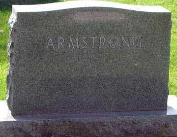 ARMSTRONG, FAMILY MARKER - Minnehaha County, South Dakota | FAMILY MARKER ARMSTRONG - South Dakota Gravestone Photos