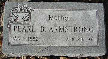 ARMSTRONG, PEARL B. - Minnehaha County, South Dakota | PEARL B. ARMSTRONG - South Dakota Gravestone Photos