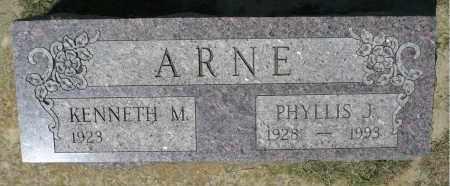 ARNE, PHYLLIS J. - Minnehaha County, South Dakota | PHYLLIS J. ARNE - South Dakota Gravestone Photos
