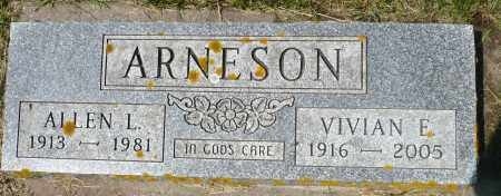 ARNESON, VIVIAN E. - Minnehaha County, South Dakota | VIVIAN E. ARNESON - South Dakota Gravestone Photos