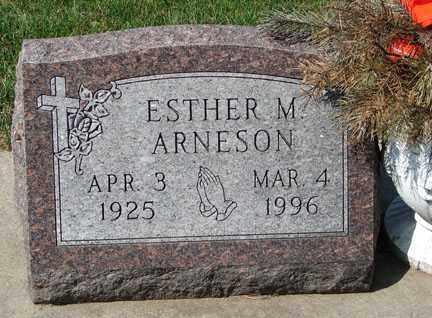 ARNESON, ESTHER M. - Minnehaha County, South Dakota | ESTHER M. ARNESON - South Dakota Gravestone Photos