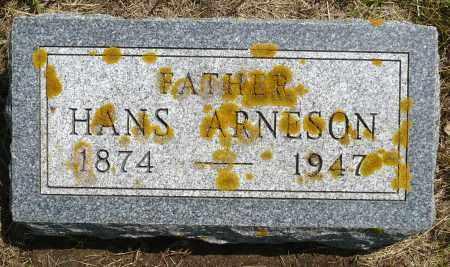 ARNESON, HANS - Minnehaha County, South Dakota | HANS ARNESON - South Dakota Gravestone Photos