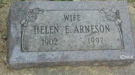 ARNESON, HELEN E. - Minnehaha County, South Dakota | HELEN E. ARNESON - South Dakota Gravestone Photos