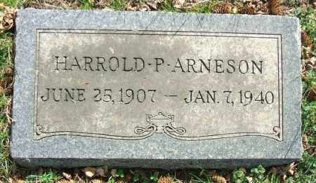 ARNESON, HARROLD P. - Minnehaha County, South Dakota | HARROLD P. ARNESON - South Dakota Gravestone Photos