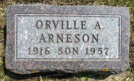 ARNESON, ORVILLE A. - Minnehaha County, South Dakota | ORVILLE A. ARNESON - South Dakota Gravestone Photos