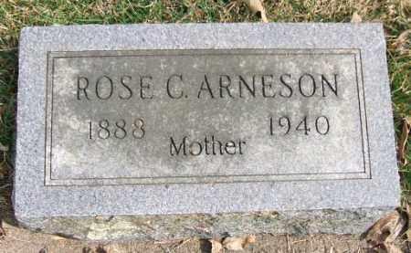 ARNESON, ROSE C. - Minnehaha County, South Dakota | ROSE C. ARNESON - South Dakota Gravestone Photos