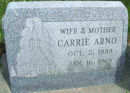 ARNO, CARRIE - Minnehaha County, South Dakota | CARRIE ARNO - South Dakota Gravestone Photos
