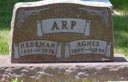 ARP, AGNES - Minnehaha County, South Dakota | AGNES ARP - South Dakota Gravestone Photos
