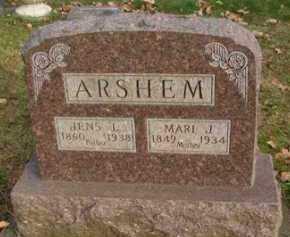 ARSHEM, MARI  J. - Minnehaha County, South Dakota | MARI  J. ARSHEM - South Dakota Gravestone Photos