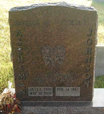 JOHNSON, VICKIE L. - Minnehaha County, South Dakota   VICKIE L. JOHNSON - South Dakota Gravestone Photos