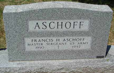 ASCHOFF, FRANCIS H. - Minnehaha County, South Dakota | FRANCIS H. ASCHOFF - South Dakota Gravestone Photos