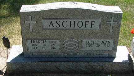 ASCHOFF, LUCILE JOAN - Minnehaha County, South Dakota | LUCILE JOAN ASCHOFF - South Dakota Gravestone Photos
