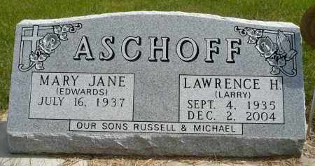 ASCHOFF, LAWRENCE HENRY - Minnehaha County, South Dakota | LAWRENCE HENRY ASCHOFF - South Dakota Gravestone Photos