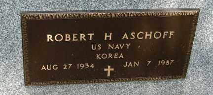 ASCHOFF, ROBERT H. - Minnehaha County, South Dakota | ROBERT H. ASCHOFF - South Dakota Gravestone Photos