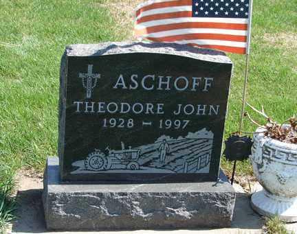 ASCHOFF, THEODORE JOHN - Minnehaha County, South Dakota   THEODORE JOHN ASCHOFF - South Dakota Gravestone Photos