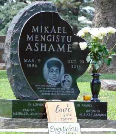 ASHAME, MIKAEL MENGISTU - Minnehaha County, South Dakota | MIKAEL MENGISTU ASHAME - South Dakota Gravestone Photos