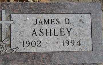 ASHLEY, JAMES D. - Minnehaha County, South Dakota | JAMES D. ASHLEY - South Dakota Gravestone Photos