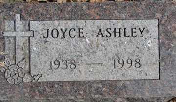 ASHLEY, JOYCE - Minnehaha County, South Dakota   JOYCE ASHLEY - South Dakota Gravestone Photos