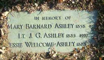 ASHLEY, JOSIAH GIRARD - Minnehaha County, South Dakota | JOSIAH GIRARD ASHLEY - South Dakota Gravestone Photos