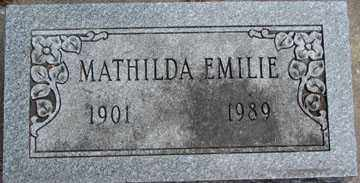 ASKIN, MATHILDA EMILIE - Minnehaha County, South Dakota | MATHILDA EMILIE ASKIN - South Dakota Gravestone Photos