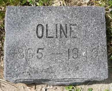 ASPAAS, OLINE - Minnehaha County, South Dakota | OLINE ASPAAS - South Dakota Gravestone Photos