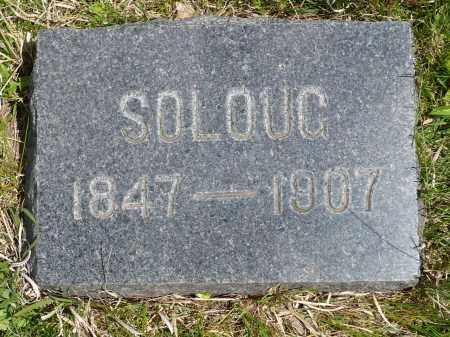 TøMMERåSMO ASPAAS, SOLOUG NILSDATTER - Minnehaha County, South Dakota   SOLOUG NILSDATTER TøMMERåSMO ASPAAS - South Dakota Gravestone Photos