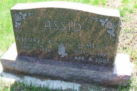 ASSID, JAMES ZINE - Minnehaha County, South Dakota | JAMES ZINE ASSID - South Dakota Gravestone Photos