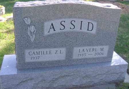 ASSID, CAMILLE - Minnehaha County, South Dakota | CAMILLE ASSID - South Dakota Gravestone Photos