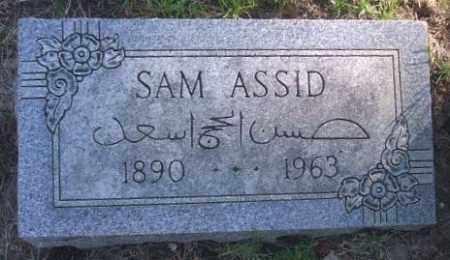 ASSID, SAM - Minnehaha County, South Dakota | SAM ASSID - South Dakota Gravestone Photos