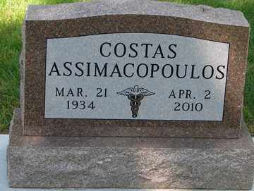 ASSIMACOPOULOS, COSTAS - Minnehaha County, South Dakota | COSTAS ASSIMACOPOULOS - South Dakota Gravestone Photos