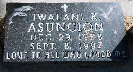 ASUNCION, IWALANI K. - Minnehaha County, South Dakota | IWALANI K. ASUNCION - South Dakota Gravestone Photos