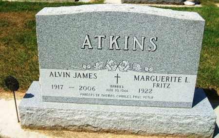 ATKINS, ALVIN JAMES - Minnehaha County, South Dakota | ALVIN JAMES ATKINS - South Dakota Gravestone Photos