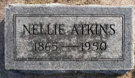 ATKINS, NELLIE - Minnehaha County, South Dakota   NELLIE ATKINS - South Dakota Gravestone Photos