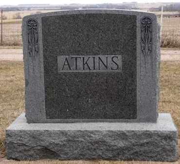 ATKINS, FAMILY MARKER - Minnehaha County, South Dakota | FAMILY MARKER ATKINS - South Dakota Gravestone Photos