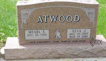 ATWOOD, ELVA JEAN - Minnehaha County, South Dakota | ELVA JEAN ATWOOD - South Dakota Gravestone Photos