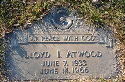 ATWOOD, LLOYD I. - Minnehaha County, South Dakota | LLOYD I. ATWOOD - South Dakota Gravestone Photos