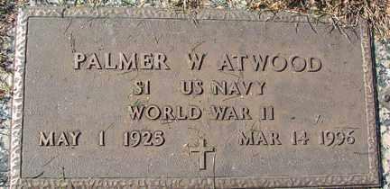 ATWOOD, PALMER W. - Minnehaha County, South Dakota | PALMER W. ATWOOD - South Dakota Gravestone Photos