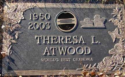 ATWOOD, THERESA L. - Minnehaha County, South Dakota | THERESA L. ATWOOD - South Dakota Gravestone Photos